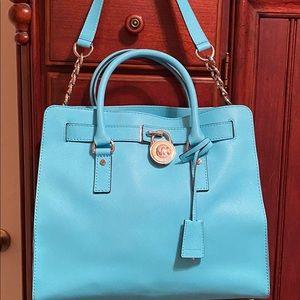 Michael Kors Hamilton Saffiano Large Handbag